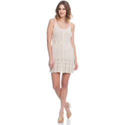 Clothing Women Dresses Laura Moretti Dress LRCP8N2007 Beige F Beige