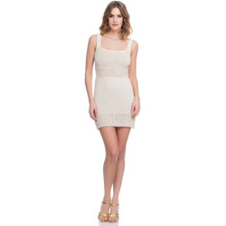 Clothing Women Dresses Laura Moretti Dress LRCP8N2008 Beige F Beige
