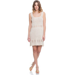 Clothing Women Dresses Laura Moretti Dress LRCP8N2010 Beige Woman Spring/Summer Collection 2018 Beige