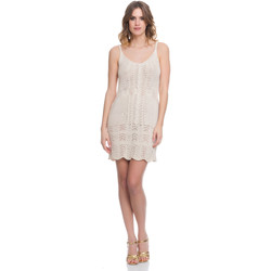 Clothing Women Dresses Laura Moretti Dress LRCP8N2011 Beige Woman Spring/Summer Collection 2018 Beige