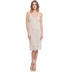 Clothing Women Dresses Laura Moretti Dress LRCP8N2015 Beige F Beige