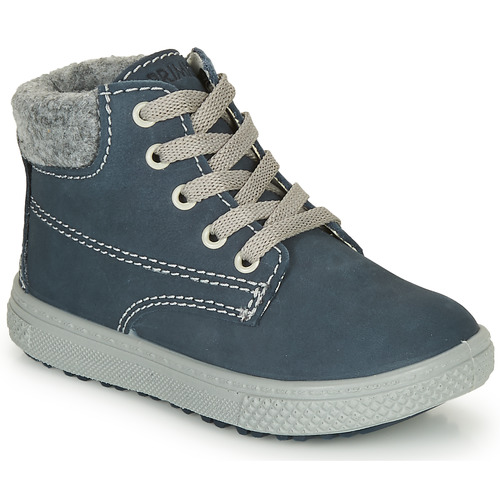 Shoes Boy Mid boots Primigi BARTH 19 Blue