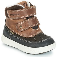 Shoes Boy Mid boots Primigi 2372600 PBZGT GORE-TEX Brown