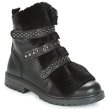Shoes Girl Mid boots Primigi (enfant) CHRIS Black