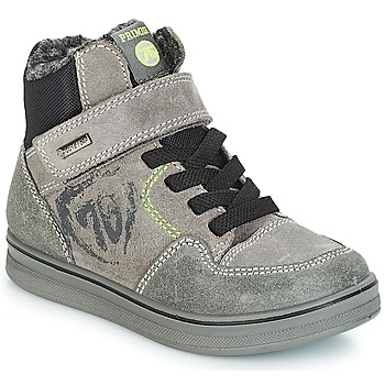 Shoes Boy Hi top trainers Primigi AYGO GORE-TEX Grey