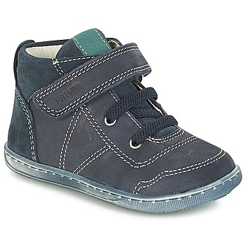 Shoes Boy Mid boots Primigi (enfant) PALMER Blue