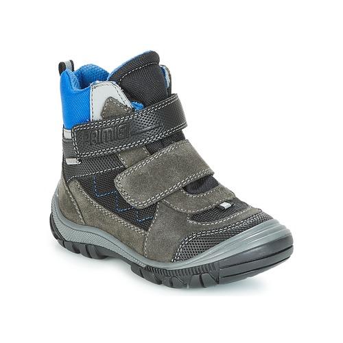 Shoes Boy Snow boots Primigi PNA 24355 GORE-TEX Grey / Blue