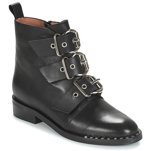 Shoes Women Mid boots Jonak DIRCE Black