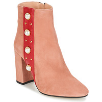 Shoes Women Ankle boots Jonak CHERRY Pink