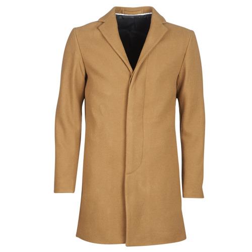 Clothing Men coats Selected SLHBROKE Beige
