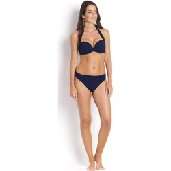 Clothing Women Bikini Separates Pain De Sucre High-Waisted Bikini Bottom reversible Tobago  Navy Blue