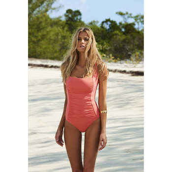 Clothing Women Swimsuits Melissa Odabash , Swimsuit Coral - Milano Coral