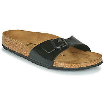 Shoes Women Mules Birkenstock MADRID Black / Varnish
