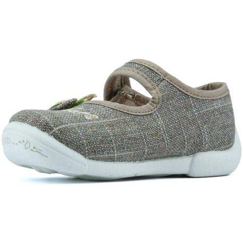 Shoes Children Flat shoes Vulladi MANUFACTURERS  DESI FLORES K 5776 TAUPE