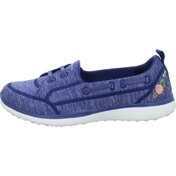 Shoes Mid boots Skechers Microburst Blossoms Blue