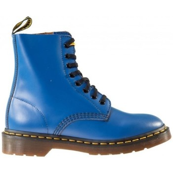 Shoes Men Mid boots Dr Martens Smooth 1460 Blue