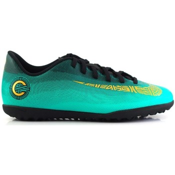 Shoes Children Shoes Nike Mercurial Vapor Club CR7 TF JR Green
