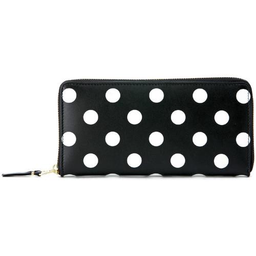 Bags Women Wallets Comme Des Garcons Comme Des Garçons black and white polka dots wallet Black