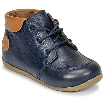 Shoes Boy Mid boots Aster DIN Marine / Camel