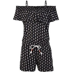 Clothing Women Jumpsuits / Dungarees Protest MONO  CISSY JR PLAYSUIT 2911081 NEGRO