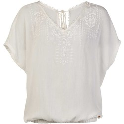 Clothing Women Tops / Blouses Protest TOP  SEASHELL MUMBY BLOUSE 1615181 BLANCO