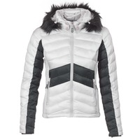 Clothing Women Duffel coats Superdry OFFSHORE LUXE CHEVRON FUJI Grey / Black