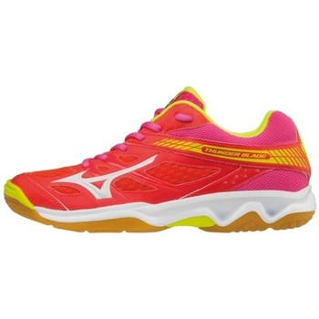 Shoes Women Low top trainers Mizuno Thunder Pink-Red