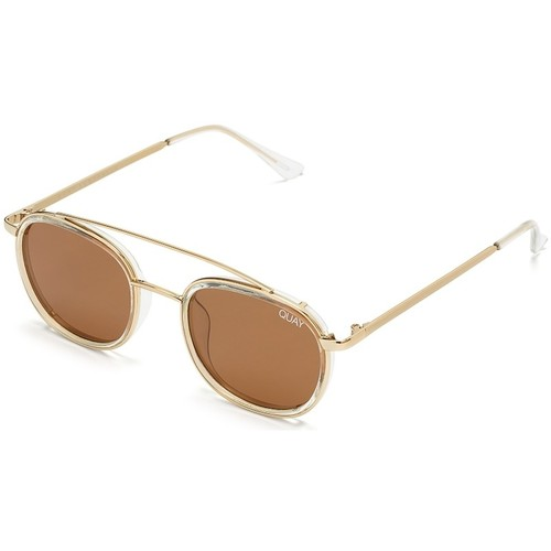 Watches Men Sunglasses Quay Australia Got It Covered Clear Sunglasses With Brown Lens Brown