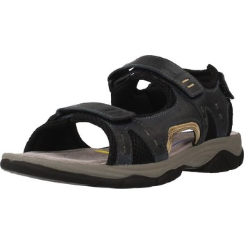 Shoes Men Sandals Stonefly MARK 1 LEATHER Grey