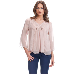Clothing Women Tops / Blouses Laura Moretti Blouse DAUSY Pink F Pink