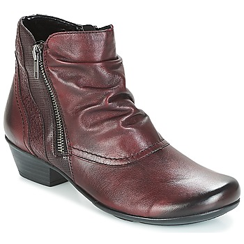 Shoes Women Ankle boots Remonte Dorndorf SORIAL Bordeau