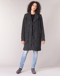 Clothing Women coats Vila VICAT Black