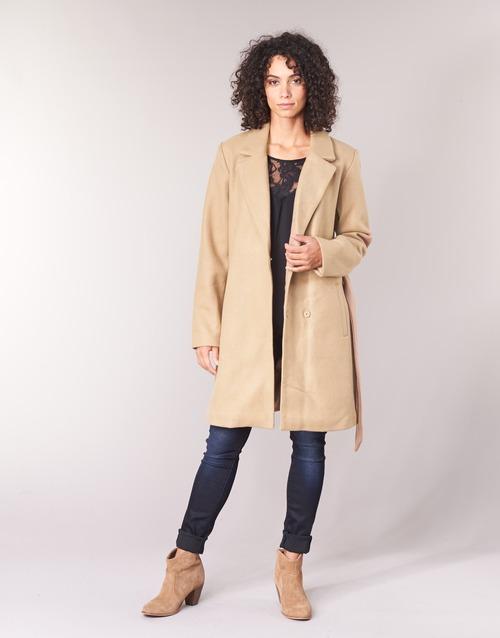 Clothing Women coats Vila VILUS Camel