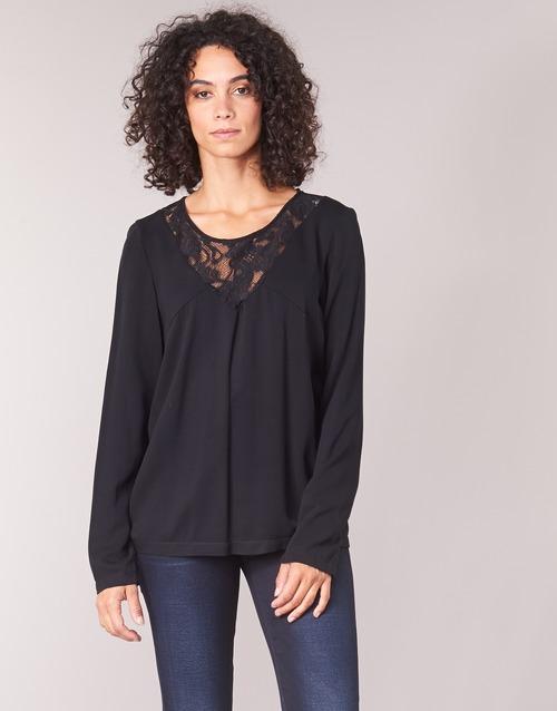 Clothing Women Tops / Blouses Vila VIEVERLY Black