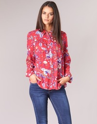 Clothing Women Tops / Blouses Vila VIESTO Red