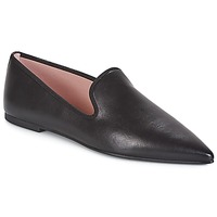 Shoes Women Slip-ons Pretty Ballerinas BELALE Coton / Black