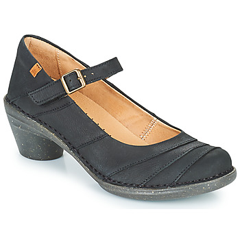 Shoes Women Heels El Naturalista AQUA Black