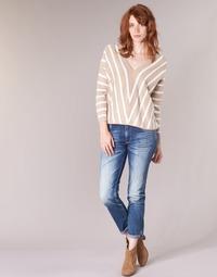 Clothing Women slim jeans Le Temps des Cerises HERITAGE Blue / Medium
