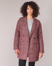 Clothing Women coats Le Temps des Cerises LADY Bordeaux