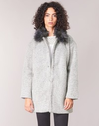 Clothing Women coats Le Temps des Cerises DUCHESSE Grey