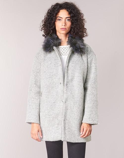 Clothing Women coats Le Temps des Cerises DUCHESSE Grey