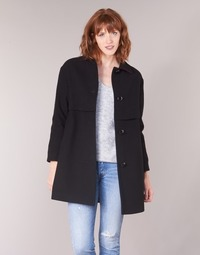 Clothing Women coats Sisley FAREDA Black