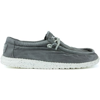 Shoes Men Boat shoes Dude WALLY WASHED SHOES M 1152 GREY