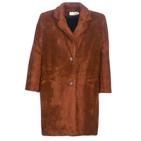 Clothing Women coats See U Soon REVENTA Brown