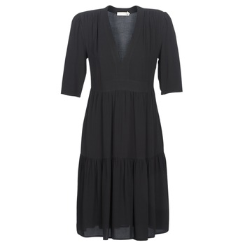 Clothing Women Long Dresses See U Soon CUICO Black