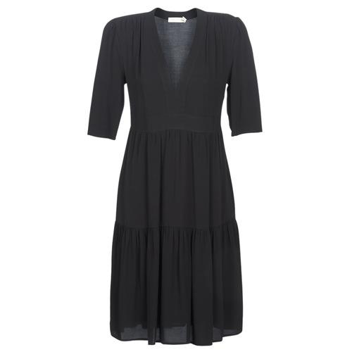 Clothing Women Long Dresses See U Soon CUICO Black