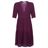 Clothing Women Long Dresses See U Soon GUDO Bordeaux