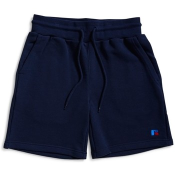 Clothing Men Shorts / Bermudas Russell Athletic Explorers Shorts Navy Blue
