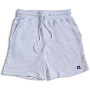 Clothing Men Shorts / Bermudas Russell Athletic Explorers Shorts Silver Marl Silver