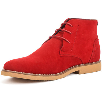 Shoes Women Mid boots Reservoir Shoes Ankle boots with round toe COLINE Red Man Spring/Summer Collect Red